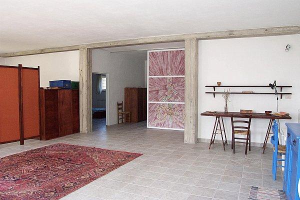 casa rosa sala